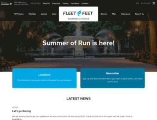 fleetfeetsavannah.com screenshot