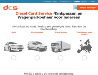 fleetkaart.nl screenshot