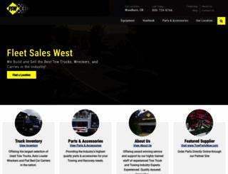 fleetsaleswest.com screenshot