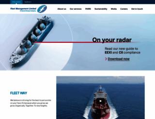 fleetship.com screenshot
