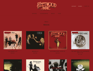 fleetwoodmac.fanfire.com screenshot