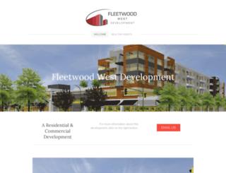 fleetwoodwest.ca screenshot