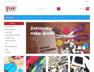 flek.pl screenshot
