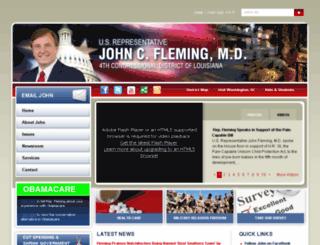 fleming.house.gov screenshot