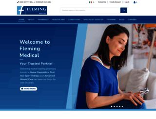 flemingmedical.ie screenshot