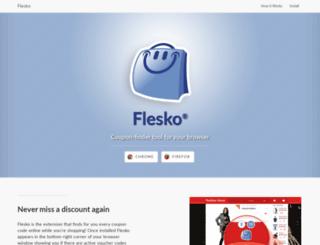 flesko.com screenshot