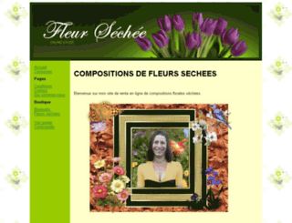 fleur-sechee.fr screenshot