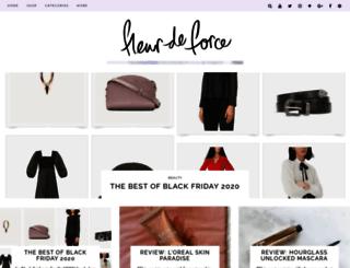 fleurdeforce.com screenshot