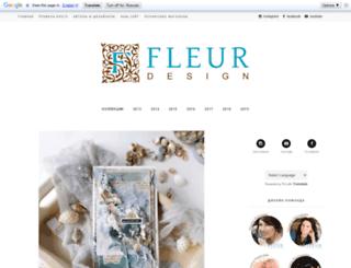 fleurpaper.blogspot.com screenshot
