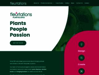 fleurtations.co.uk screenshot