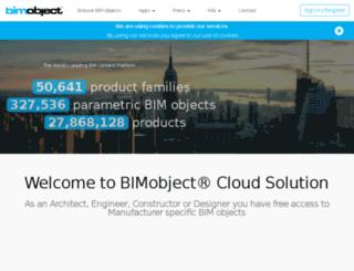 flex.bimobject.com screenshot