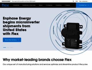 flex.com screenshot