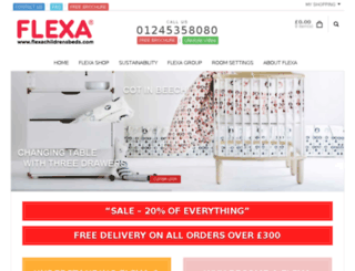 flexachildrensbeds.co.uk screenshot