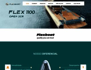 flexboat.com.br screenshot