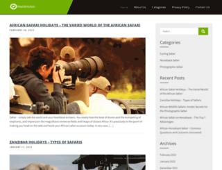 flexiblesafaris.com screenshot