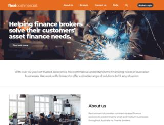 flexicommercial.com.au screenshot