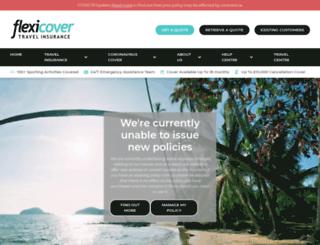 flexicover.co.uk screenshot