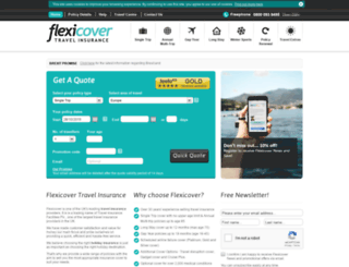 flexicover.com screenshot
