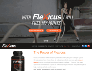 flexicus.com screenshot