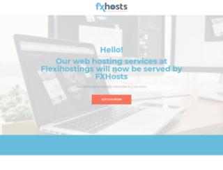 flexihostings.com.sg screenshot