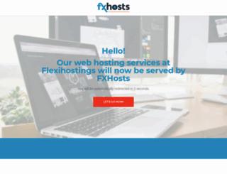 flexihostings.net screenshot