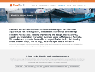 flexitank.com.au screenshot