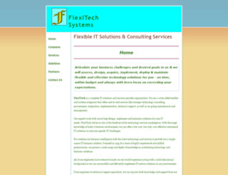flexitechsystems.com screenshot