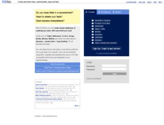 flexlists.com screenshot