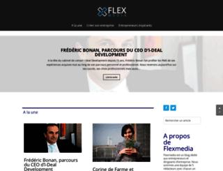 flexmedia.fr screenshot