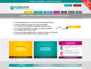 flexojob.com screenshot
