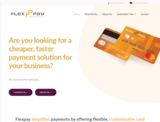 flexpay.co.za screenshot