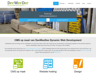 flexper.deeweedee.nl screenshot