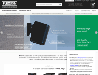 flexson.co.uk screenshot