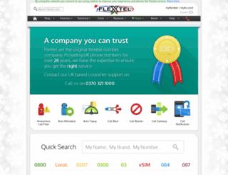flextel.ltd.uk screenshot