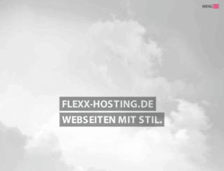 flexx-hosting.de screenshot