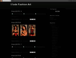 flickrmode.blogspot.com screenshot