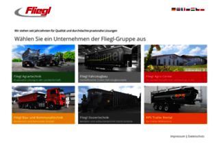 fliegl.com screenshot