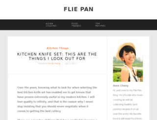 fliepan.com screenshot