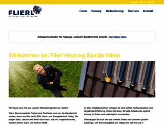 flierl-haustechnik.de screenshot