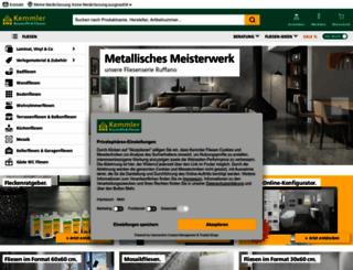 fliesen-kemmler.de screenshot