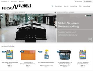 fliesen-neuhaus.de screenshot