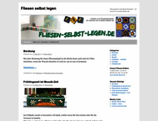 fliesen-selbst-legen.de screenshot