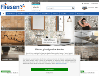 fliesen24.com screenshot
