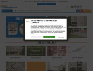 fliesenrabatte.de screenshot