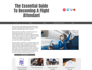 flightattendantcareer.com screenshot