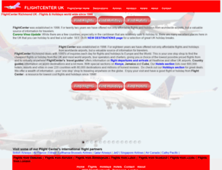 flightcenteruk.com screenshot