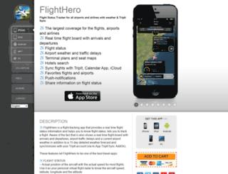 flightheroapp.com screenshot