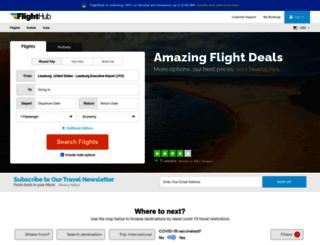 flighthub.com screenshot