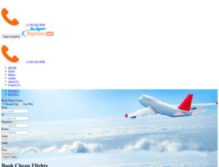 flightom.com screenshot