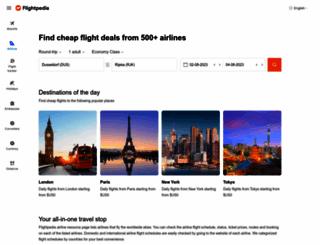 flightpedia.org screenshot